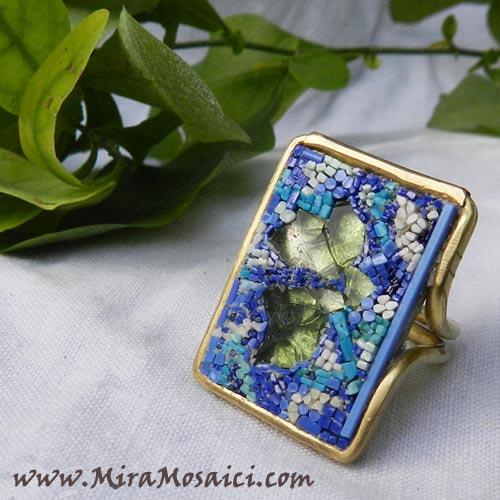 anello-blu-micromosaico